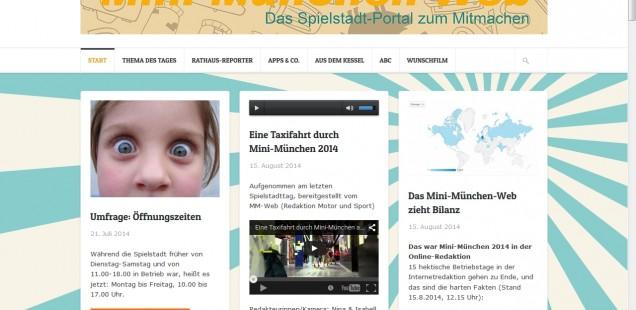 Tablet-Scouts in Mini-München