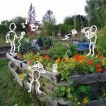 o'pflanzt interactive - ein interaktiver, multimedialer Lehrpfad durch den Gemeinschaftsgarten