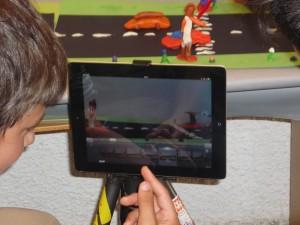 Trickfilm mit Tablet und der App iStopMotion selbst produziert