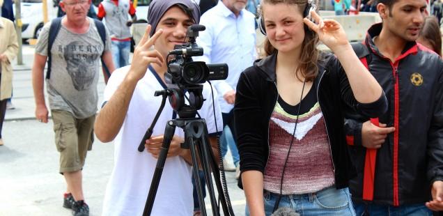 Inklusion | Teilhabe | Integration – Ein partizipativer Filmworkshop für junge Geflüchtete